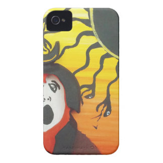Sacrifice to the Solar Snake God iPhone 4 Case-Mate Cases