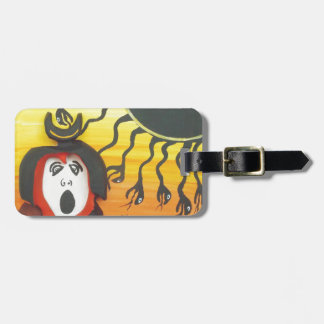 Sacrifice to the Solar Snake God Luggage Tag