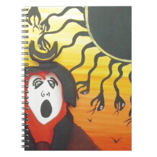 Sacrifice to the Solar Snake God Notebooks