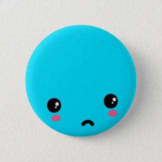 Sad 2 Inch Round Button