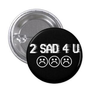 Sad boys 1 inch round button