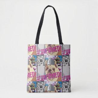 Sad Bulldog Tote Bag