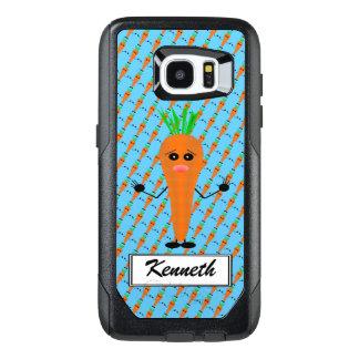 Sad Carrot by Kenneth Yoncich OtterBox Samsung Galaxy S7 Edge Case