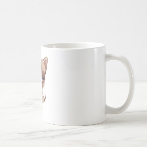 Sad Cat Coffee Mugs