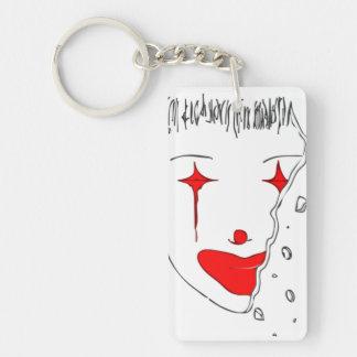 Sad Clown Keychain