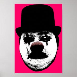 Sad Clown Print
