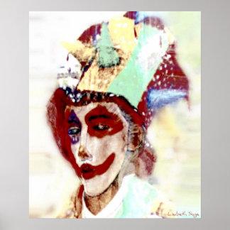 """""""Sad Clown"""" Print"""