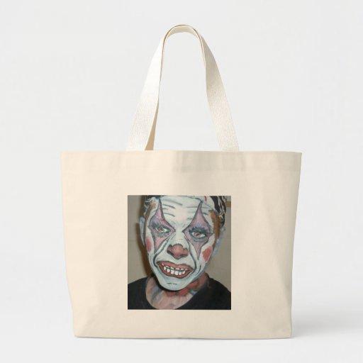 Sad Clowns Scary Clown Face Painting Bag