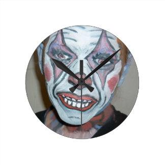 Sad Clowns Scary Clown Face Painting Clocks