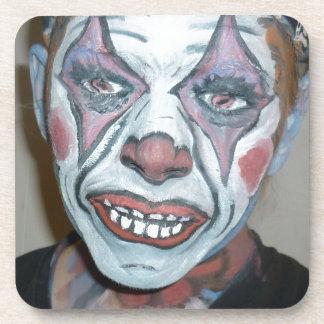 Sad Clowns Scary Clown Face Painting Coasters