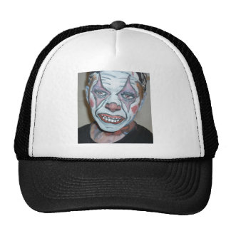 Sad Clowns Scary Clown Face Painting Hat