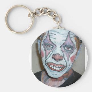 Sad Clowns Scary Clown Face Painting Keychain
