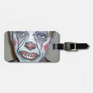 Sad Clowns Scary Clown Face Painting Tag For Bags