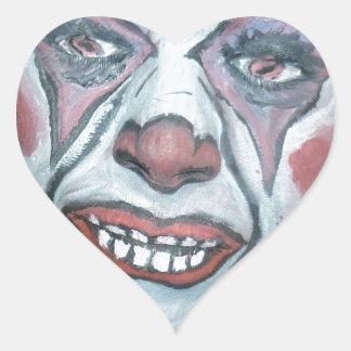 Sad Clowns Scary Clown Face Painting Sticker