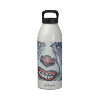 Sad Clowns Scary Clown Face Painting Drinking Bottle