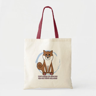 Sad Dog Eyes Shiba Inu Tote Bag