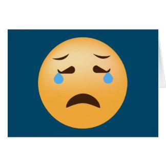 Sad Emoji Card