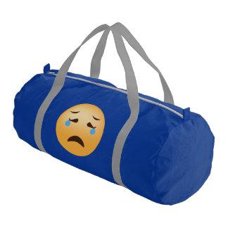 Sad Emoji Gym Bag