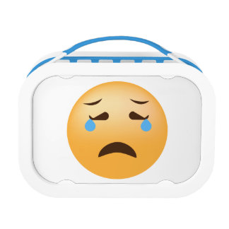 Sad Emoji Lunch Box