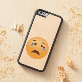 Sad Emoji Maple iPhone 6 Bumper Case