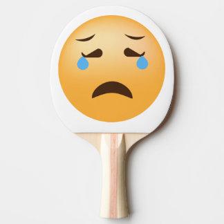 Sad Emoji Ping-Pong Paddle