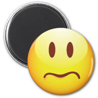 Sad Emoticon Magnet