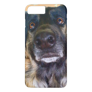 Sad Eyes German Shepherd, IPhone 7 plus Case