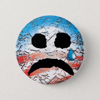 Sad Face Obama Logo 2 Inch Round Button
