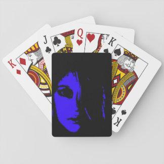 Sad Face Playing Cards