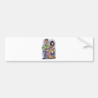 Sad Family Bumper Sticker