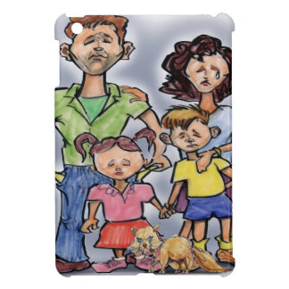 Sad Family iPad Mini Case