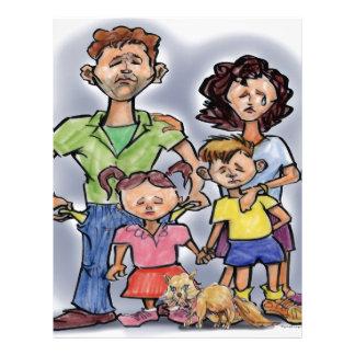 Sad Family Letterhead