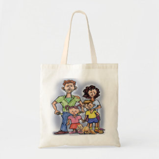 Sad Family Tote Bag