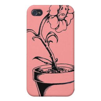 Sad Flower Case For iPhone 4