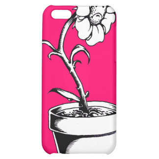 Sad Flower Cover For iPhone 5C