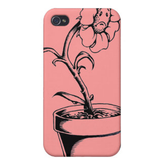 Sad Flower iPhone 4 Cover