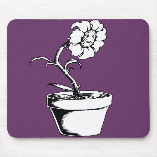 Sad Flower Mousepad