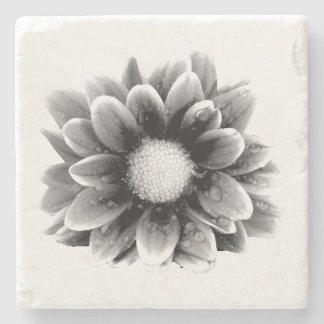 Sad Flower Stone Coaster