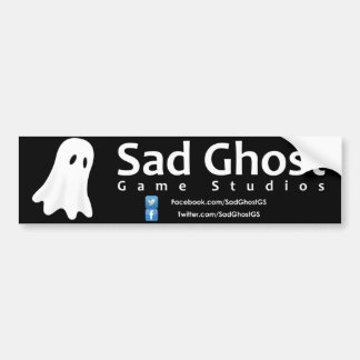 Sad Ghost Game Studios Bumper Sticker