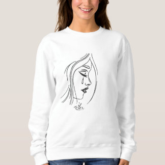 Sad Girl Crewneck Sweatshirt