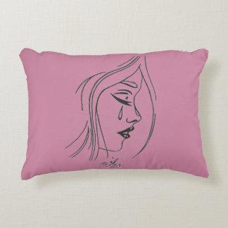 Sad Girl Pillow