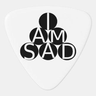 Sad guitar pick
