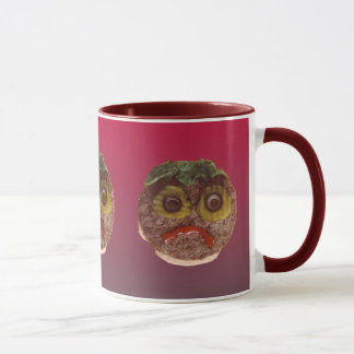Sad Hamburger Mug