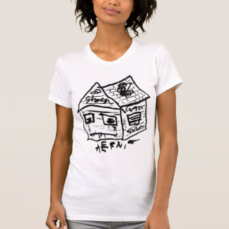 SAD HOUSE I by JUSTIN AERNI T-Shirt