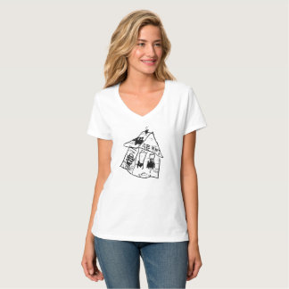 SAD HOUSE VII by JUSTIN AERNI T-Shirt