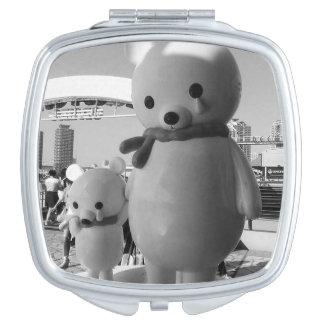 Sad Japanese Bears Vanity Mirror
