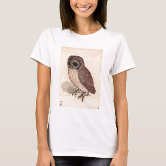 Sad Little Owl Cute Detailed T-Shirt