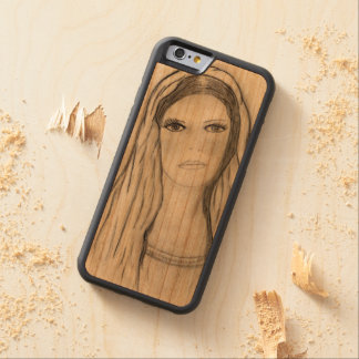 Sad Mary Carved Cherry iPhone 6 Bumper Case