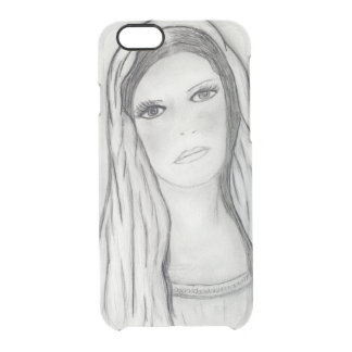 Sad Mary Clear iPhone 6/6S Case