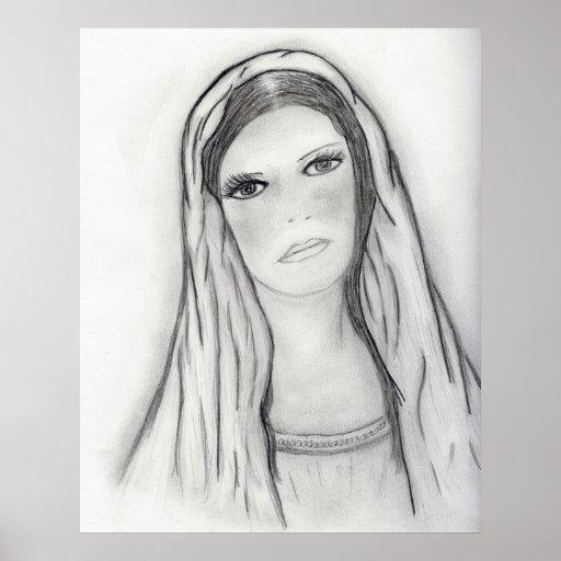 Sad Mary Poster